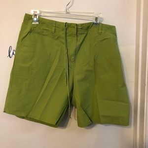 Talbots Shorts - Talbots lime green shorts size 14 stretch
